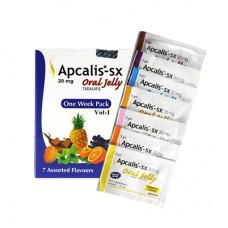 Cialis Zselé: Apcalis - SX (Tadalafil 20 mg) - 1 doboz | 7 tasak