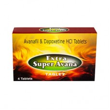 Extra Super Avana (Avanafil 200mg + Dapoxetine 60mg) - 2 doboz | 8 darab