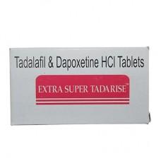 Extra Super Tadarise (40 mg Tadalafil + 60 mg Dapoxetine) - 16 darab