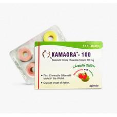 Kamagra Rágótabletta (Sildenafil 100 mg) - 1 doboz | 4 darab