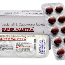 Super Valetra (20 mg Vardenafil + 20 mg Dapoxetine) - 10 darab