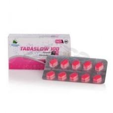 Extra Super Tadarise helyettesítő: Tadaslow 100 (Tadalafil 40mg + Dapoxetine 60 mg)